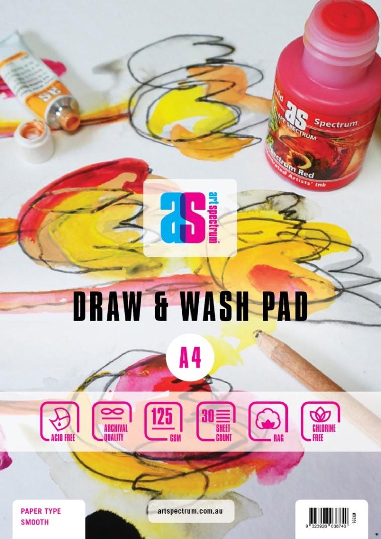draw wash pads art spectrum